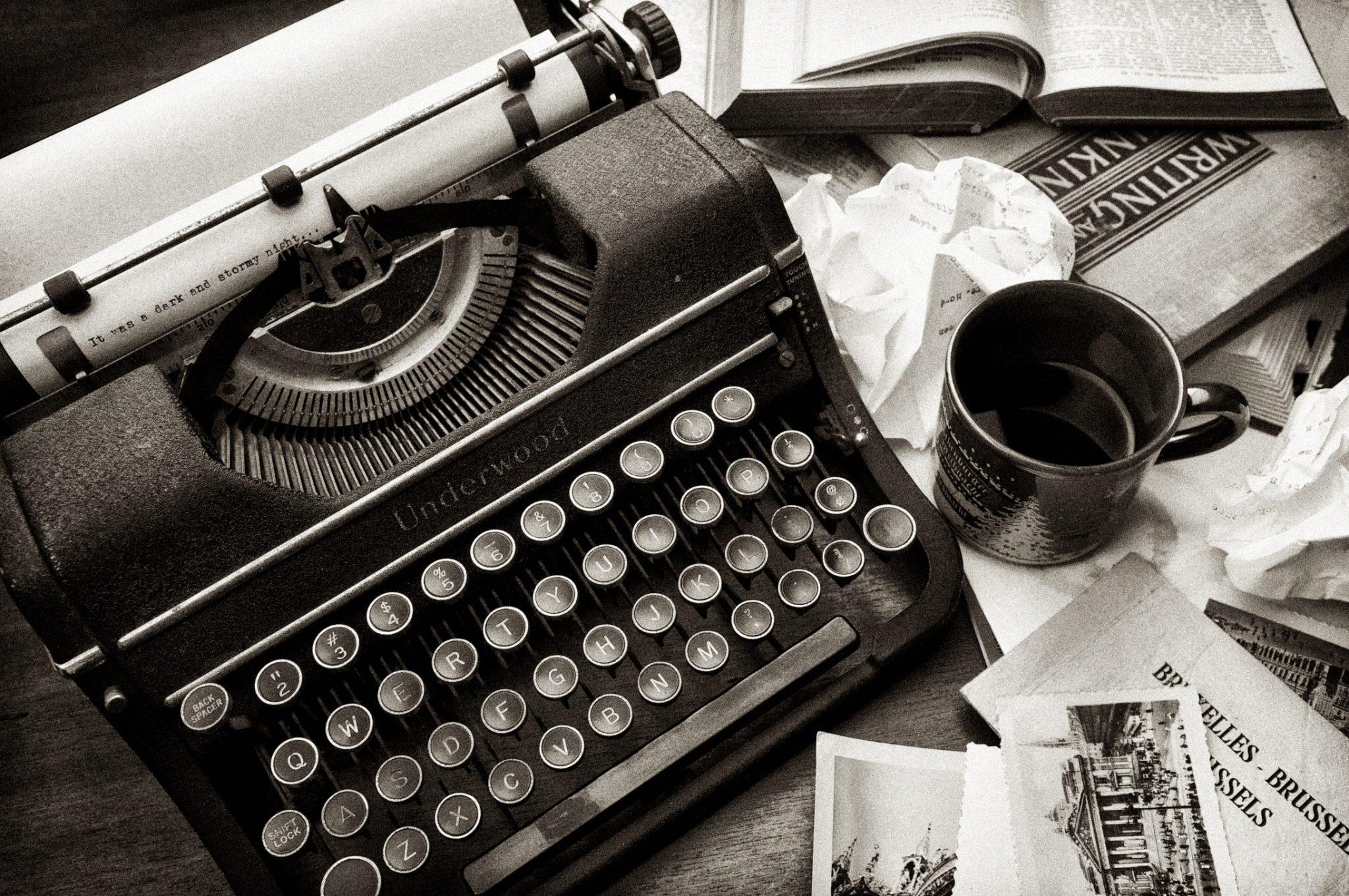 - Write